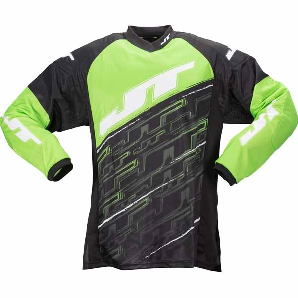 JT Tournament Paintball Jersey (neon grün) - L