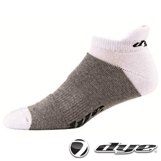 Dye Hidden Paintball Sport Socken (weiss/grau) - 43-47