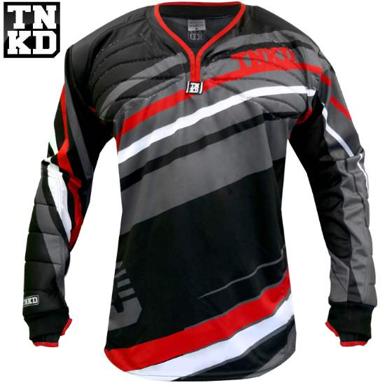Tanked Paintball GOLD Pro Jersey (schwarz/rot) - L