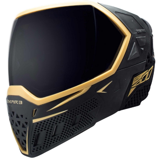 Empire EVS Paintball Maske (schwarz / gold)