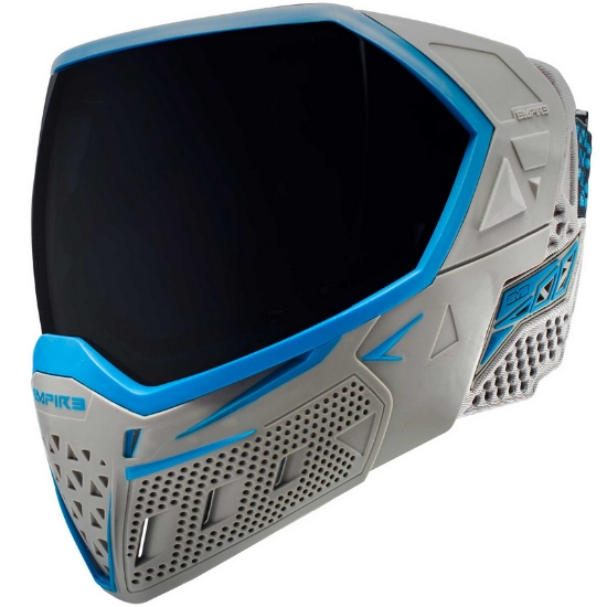 Empire EVS Paintball Maske (grau / cyan)