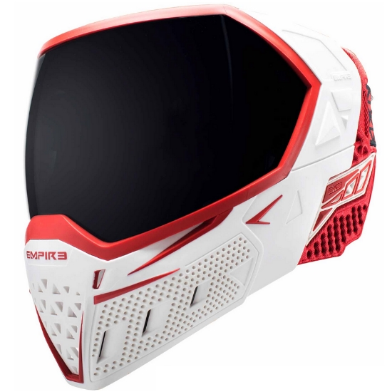 Empire EVS Paintball Maske (weiss / rot)