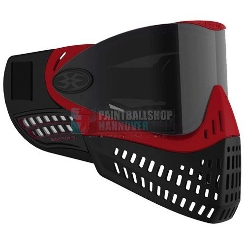 Empire E-Flex Paintball Maske (schwarz/rot)