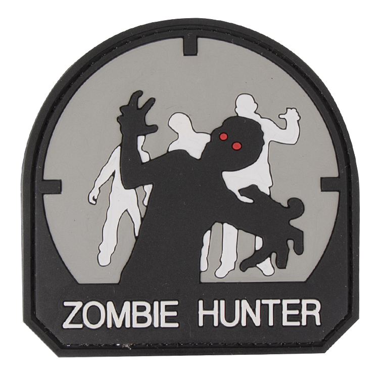 Paintball / Airsoft PVC Klettpatch (Zombie Hunt...