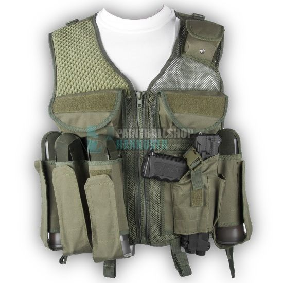 Combat Paintball Tactical Weste (oliv)