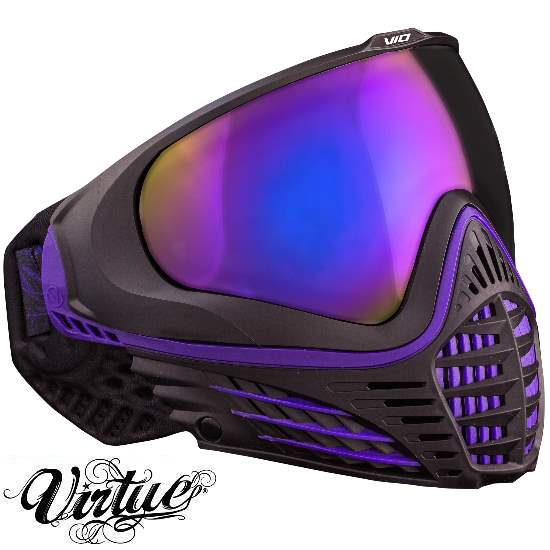 Virtue VIO Paintball Thermal Maske (Black Ameth...