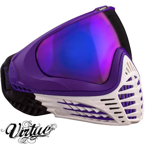 Virtue VIO Paintball Thermal Maske (White Ameth...