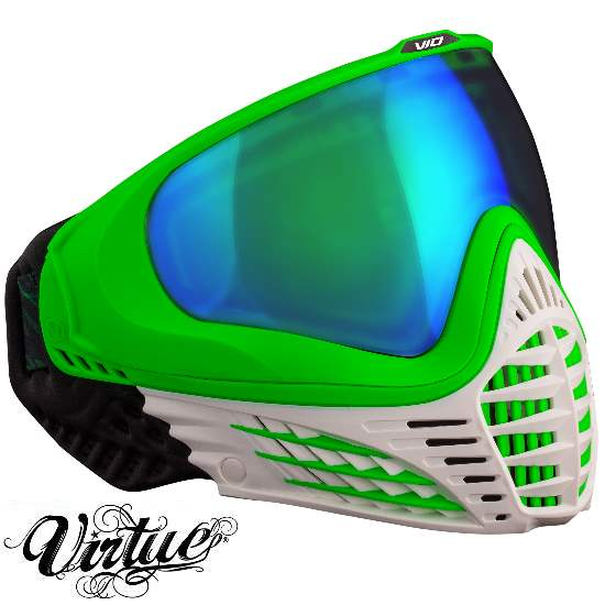 Virtue VIO Paintball Thermal Maske (White Emerald)