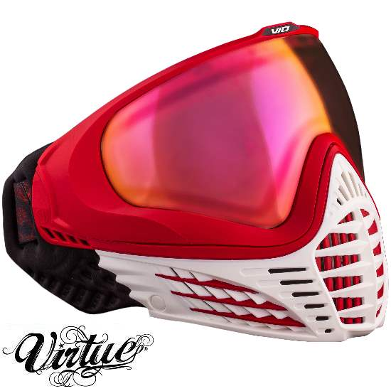 Virtue VIO Paintball Thermal Maske (White Fire)