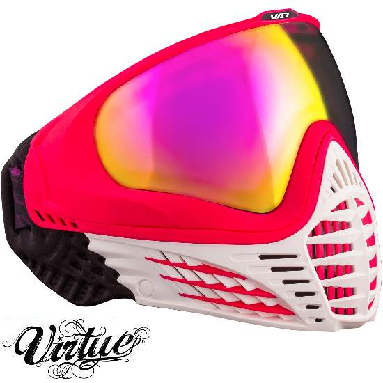 Virtue VIO Paintball Thermal Maske (White Ruby)