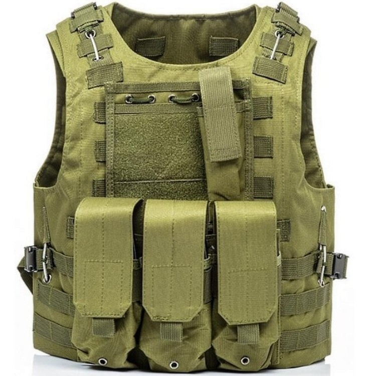 huge discount 23cd2 a6b71 Tactical Paintball Molle Weste mit Taschen (oliv)