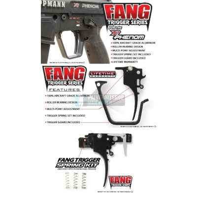 TechT Fang Trigger für Tippmann X-7 PHENOM | Paintball Sports