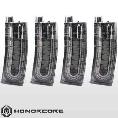 HonorCore 18-Schuss Ersatz-Magazin (smoke) - 4er Pack! | Paintball Sports