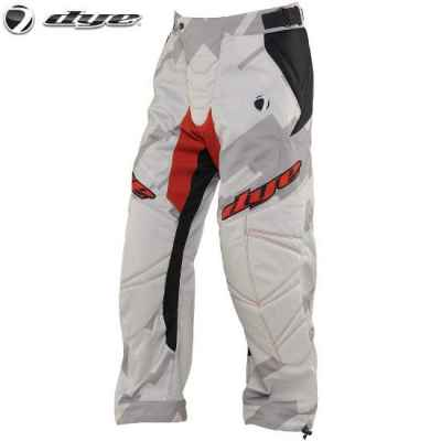 DYE C14 Paintball Hose / Pant (Airstrike Grey Red, XL/2XL) | Paintball Sports