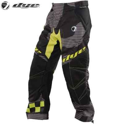 DYE C14 Paintball Hose / Pant (Bomber Black Lime, XL/2XL) | Paintball Sports