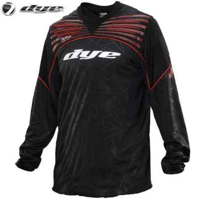 DYE C14 UL Paintball Jersey (Black Red, XS/S) | Paintball Sports