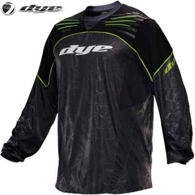 DYE C14 UL Paintball Jersey (Lime, XS/S) | Paintball Sports