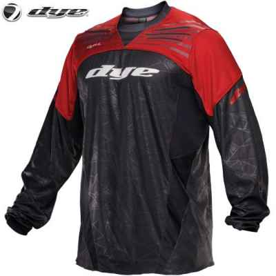 DYE C14 UL Paintball Jersey (red / rot, XS/S) | Paintball Sports