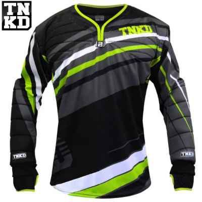 Tanked Paintball GOLD Pro Jersey (schwarz/grün) - 2XL | Paintball Sports
