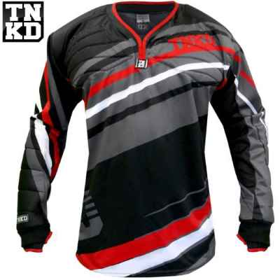 Tanked Paintball GOLD Pro Jersey (schwarz/rot) - XL | Paintball Sports