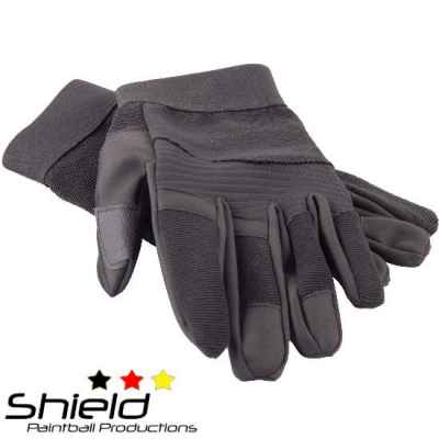 Shield A.R. Gloves Paintball Handschuhe (schwarz) | Paintball Sports