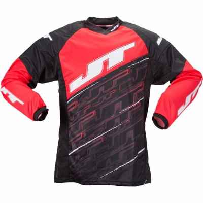 JT Tournament Paintball Jersey (rot) - M | Paintball Sports