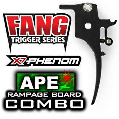 A.P.E. Rampage Board - Tippmann X7 Phenom incl. Fang Trigger | Paintball Sports