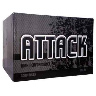 New Legion Attack Field Paintballs / Gotcha Kugeln 2000er Karton | Paintball Sports