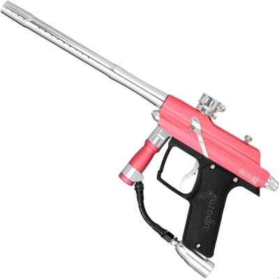 Azodin Blitz 4 Paintball Markierer (pink/silber) | Paintball Sports