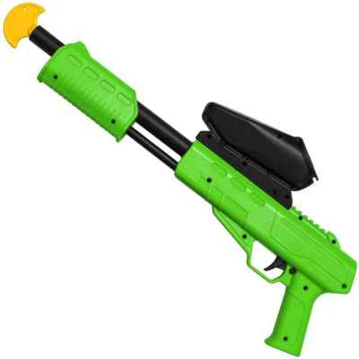 Blaster Kids Paintball Markierer / Shotgun Cal.50 (0.5 J) inkl. Loader (Lime) | Paintball Sports