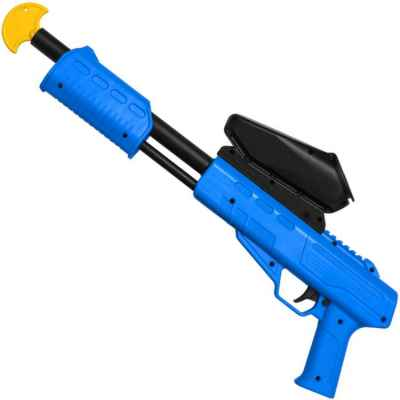 Blaster Kids Paintball Markierer / Shotgun Cal.50 (0.5 J) inkl. Loader (Blau) | Paintball Sports