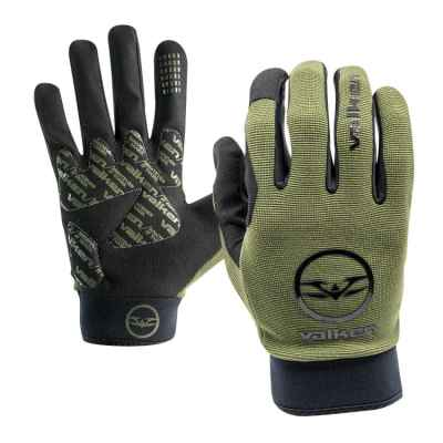 Valken Bravo Full Finger Paintball Handschuhe (oliv) | Paintball Sports