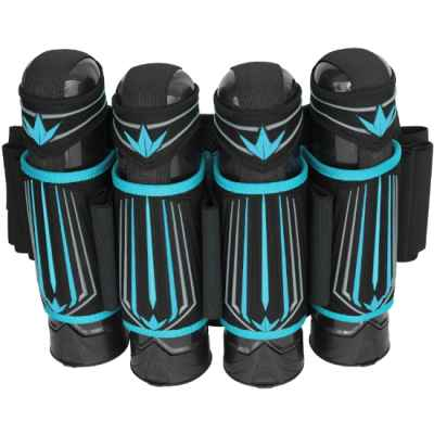 Bunker Kings Supreme V3 Paintball Battlepack 4+5 (Cyan blau) | Paintball Sports