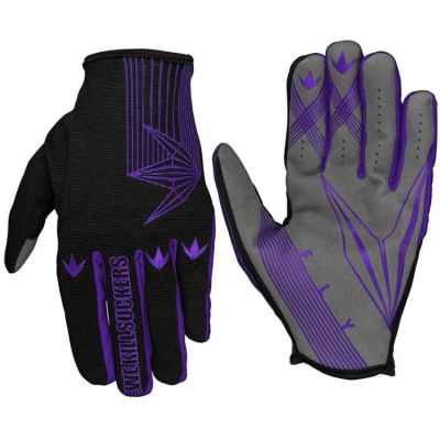 BunkerKings Fly Gloves / Paintball Handschuhe (lila) | Paintball Sports