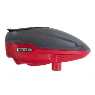 Bunkerkings CTRL Paintball Hopper (Graphite Red) | Paintball Sports