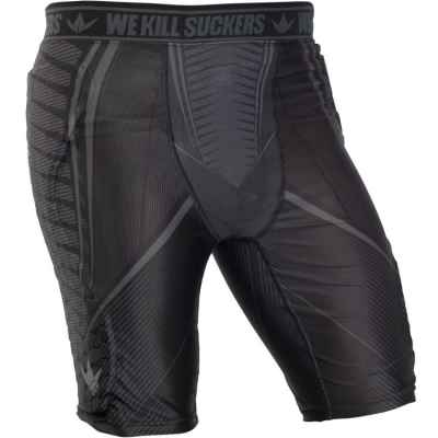 Bunkerkings Fly Compression Shorts (schwarz) | Paintball Sports