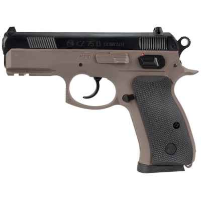 ASG CZ 75D Compact Airsoft Pistole (tan) | Paintball Sports