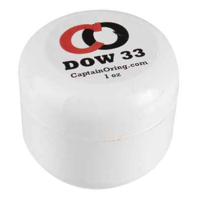 Captain O-Ring DOW 33 Lube Pantball Markierer Fett (1 oz) | Paintball Sports