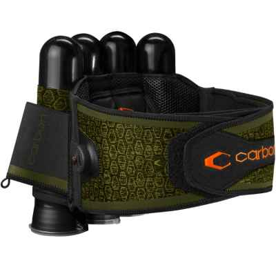 Carbon SC Harness Paintball Battlepack 4+5 (oliv) | Paintball Sports