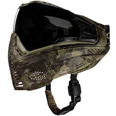 Carbon X Paintball Maske - Powered by Push (CRBN CAMO) | Paintball Sports