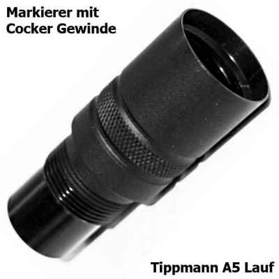 Cocker Laufadapter für Tippmann A-5 Läufe | Paintball Sports