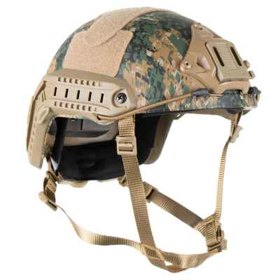 DELTA SIX Tactical MH Pro FAST Helm für Paintball / Airsoft (Digital Woodland) | Paintball Sports