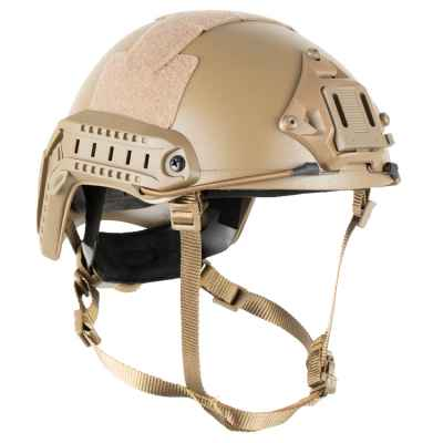 DELTA SIX Tactical MH Pro FAST Helm für Paintball / Airsoft (Tan) | Paintball Sports