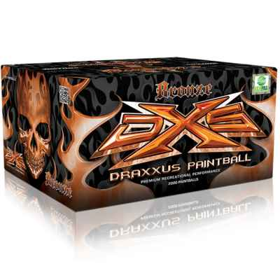 DXS Draxxus Bronze Paintballs (2000er Karton) | Paintball Sports