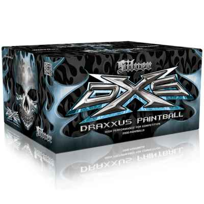 DXS Draxxus Silver Paintballs (2000er Karton) | Paintball Sports