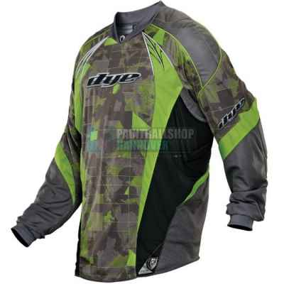 DYE C13 Paintball Jersey (Atlas Lime) (2XL/3XL) | Paintball Sports