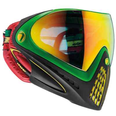 Dye I4 Paintball Thermal Maske (Rasta) | Paintball Sports