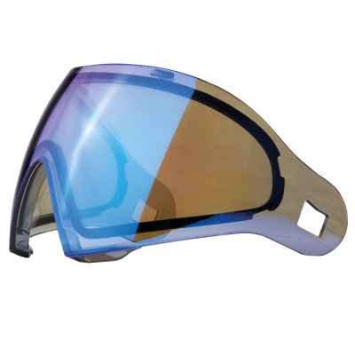 DYE I4 / I5 Paintball Thermal Maskenglas (Smoke Blue Ice) | Paintball Sports