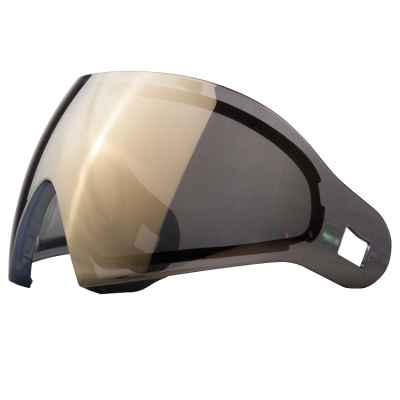 DYE I4 / I5 Paintball Thermal Maskenglas (Smoke/Gold) | Paintball Sports