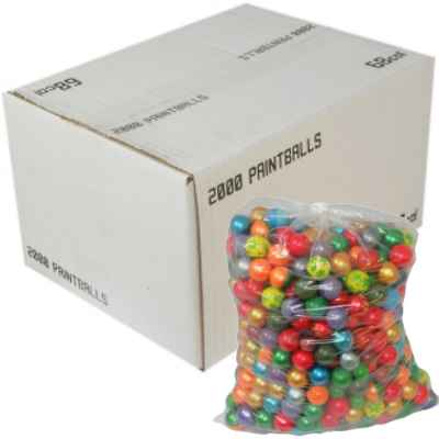 DXS Draxxus Rainbow Paintballs (2000er Karton) | Paintball Sports